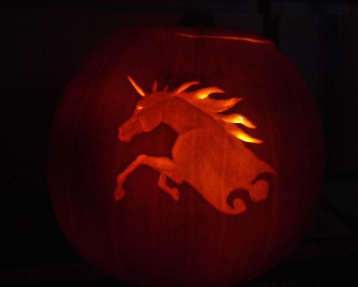 Pumpkin Unicorn 1