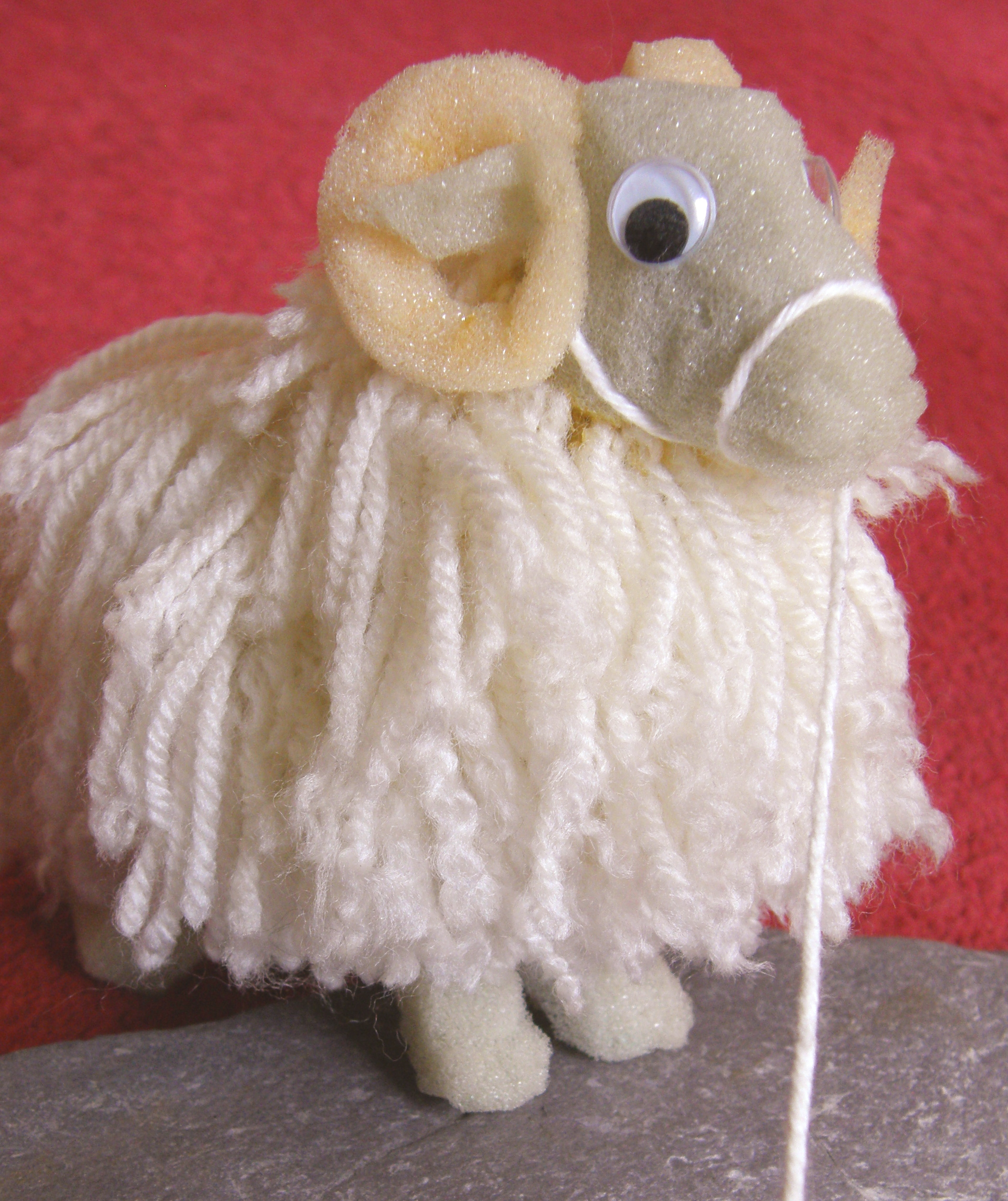 Sponge and Wool Sheep 1
