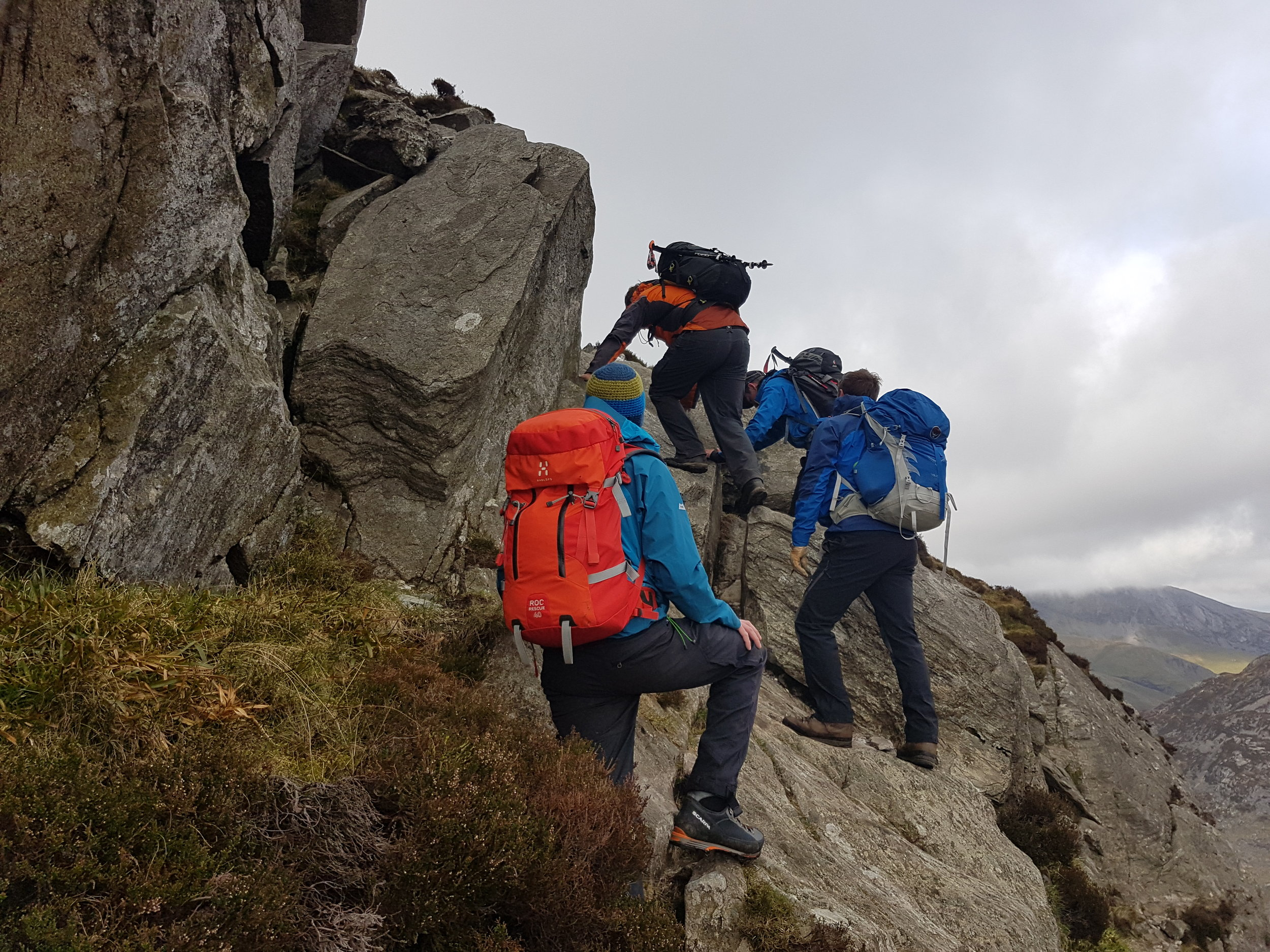 HILL WALKING AND MOUNTAINEERING -