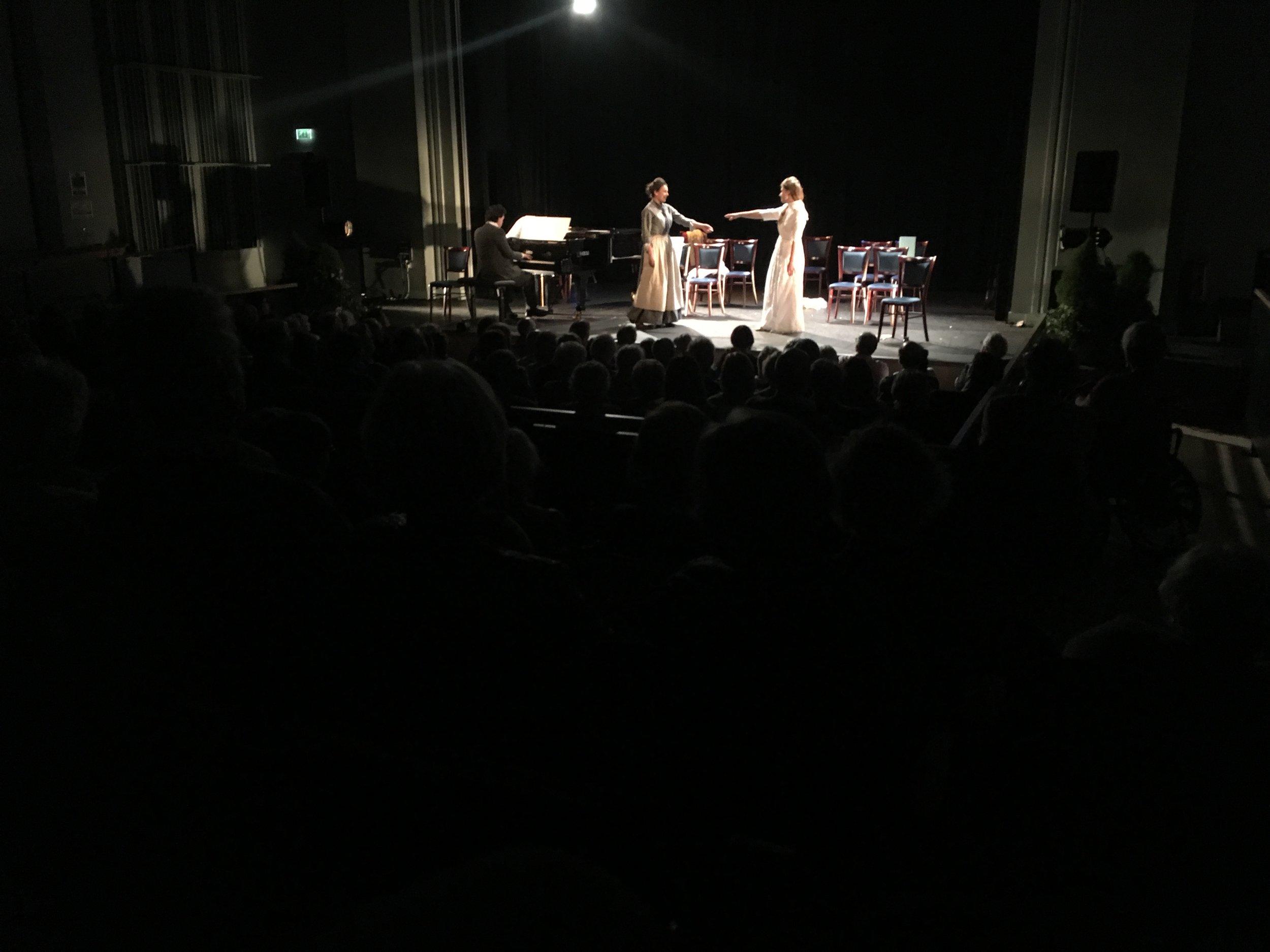 Soprano's Emma Walsh and Raphaela Papadakis
