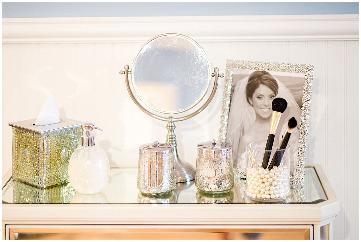 Red Oak Weddings | Jacqueline Cicala Beauty Bridal Atelier | Monika de Myer Photography
