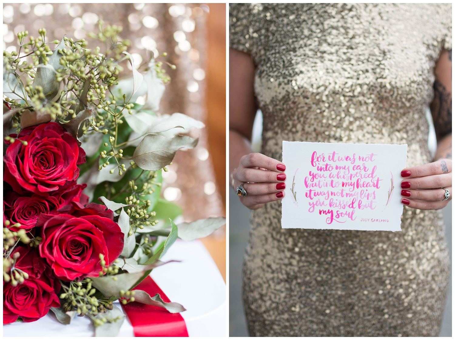 Gold & Glitter Anniversary Photos | Oak Alley Farms | Jessica Husted Photography | Red Oak Weddings