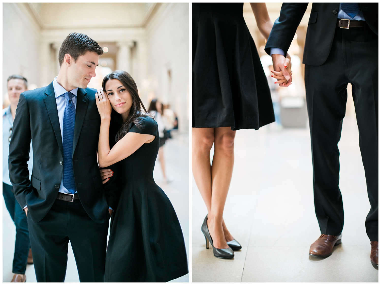 NYC Engagement Session | Cadence Kennedy | Red Oak Weddings