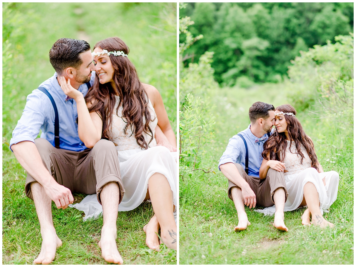 Summer Lake Engagement Session | NJ Engagement Session | Red Oak Weddings
