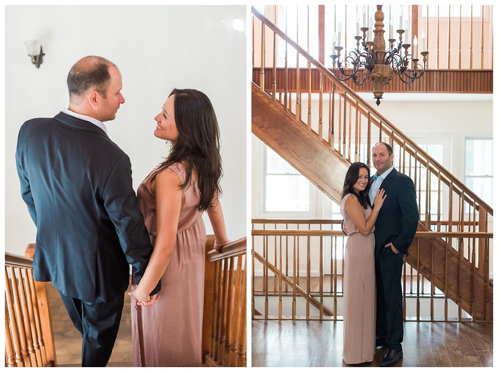 New York, New Jersey and Pennsylvania wedding vendors, resources and inspiration for the modern couple | At home engagement session