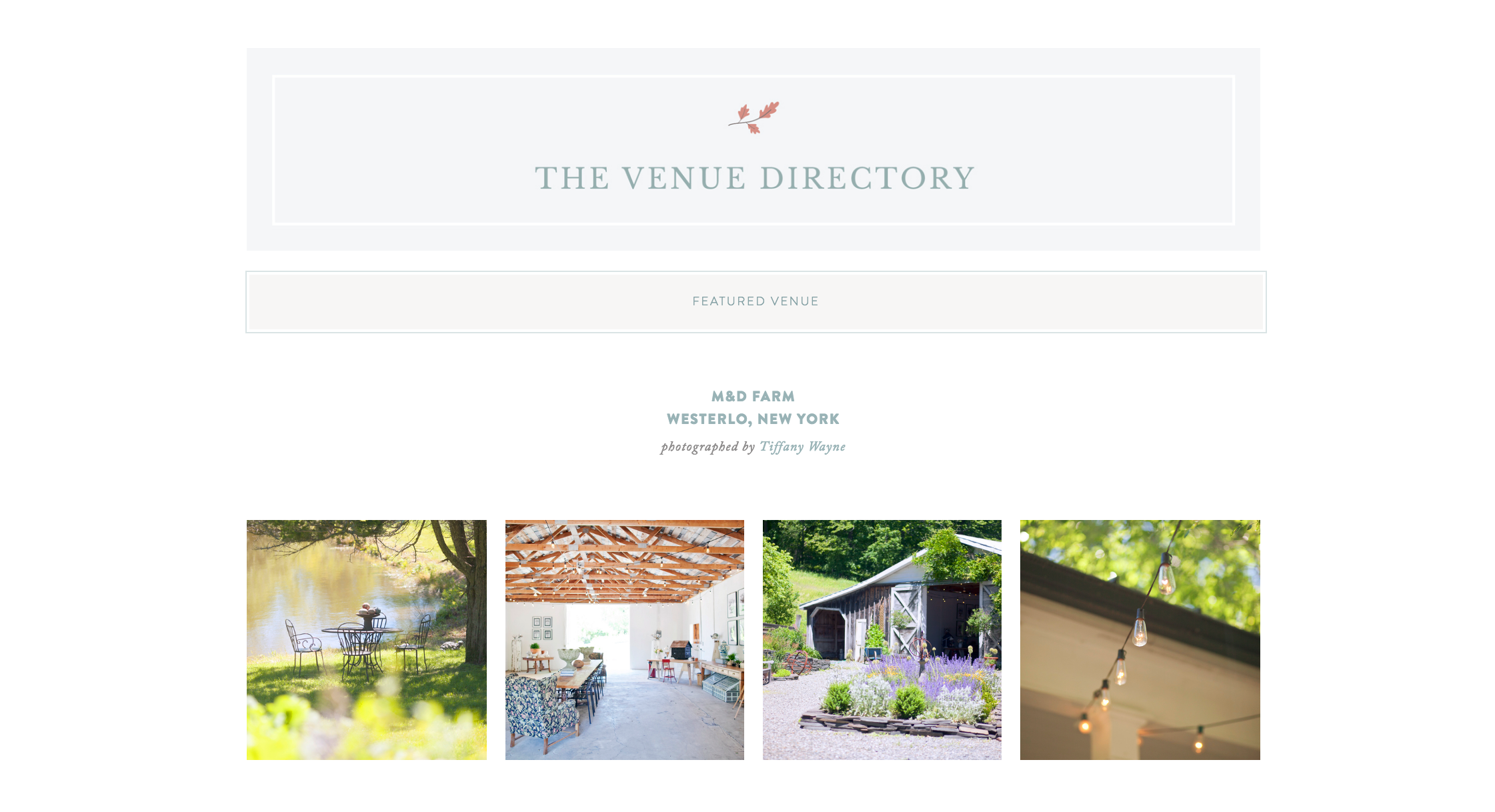 Red Oak Weddings Venue Directory | For the modern couple planning their wedding in NY, NJ + PA. Real weddings, engagements, inspiration + more!