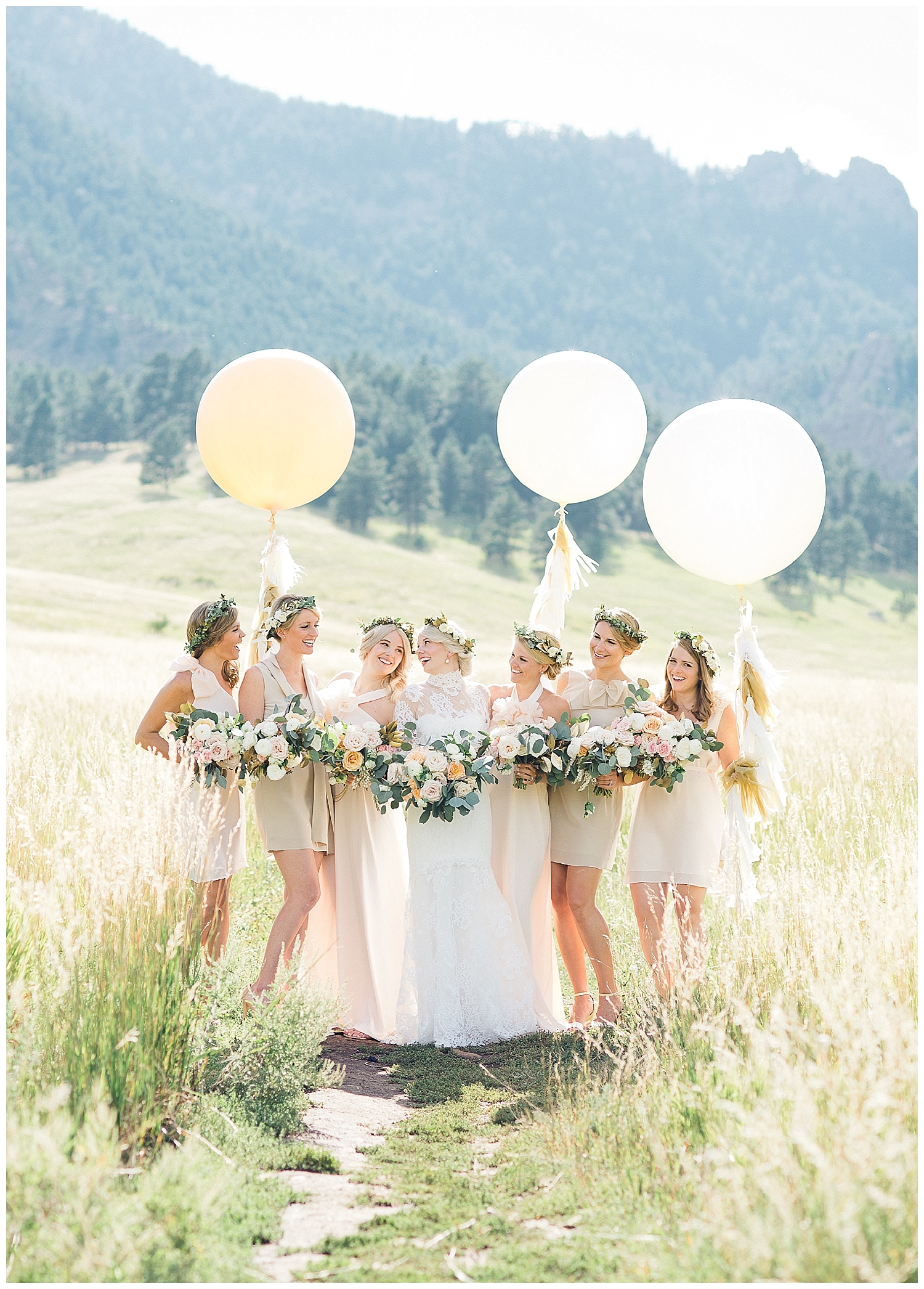 Guide to the Perfectly Mismatched Bridal Party •  Bella Bridesmaids Madison | Photo by Cyn Kain Photography