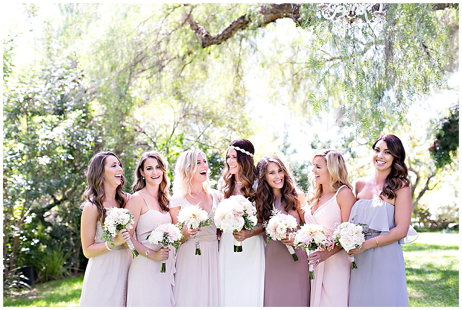 Guide to the Perfectly Mismatched Bridal Party •  Bella Bridesmaids Madison | Photo by Melissa Vossler Photography