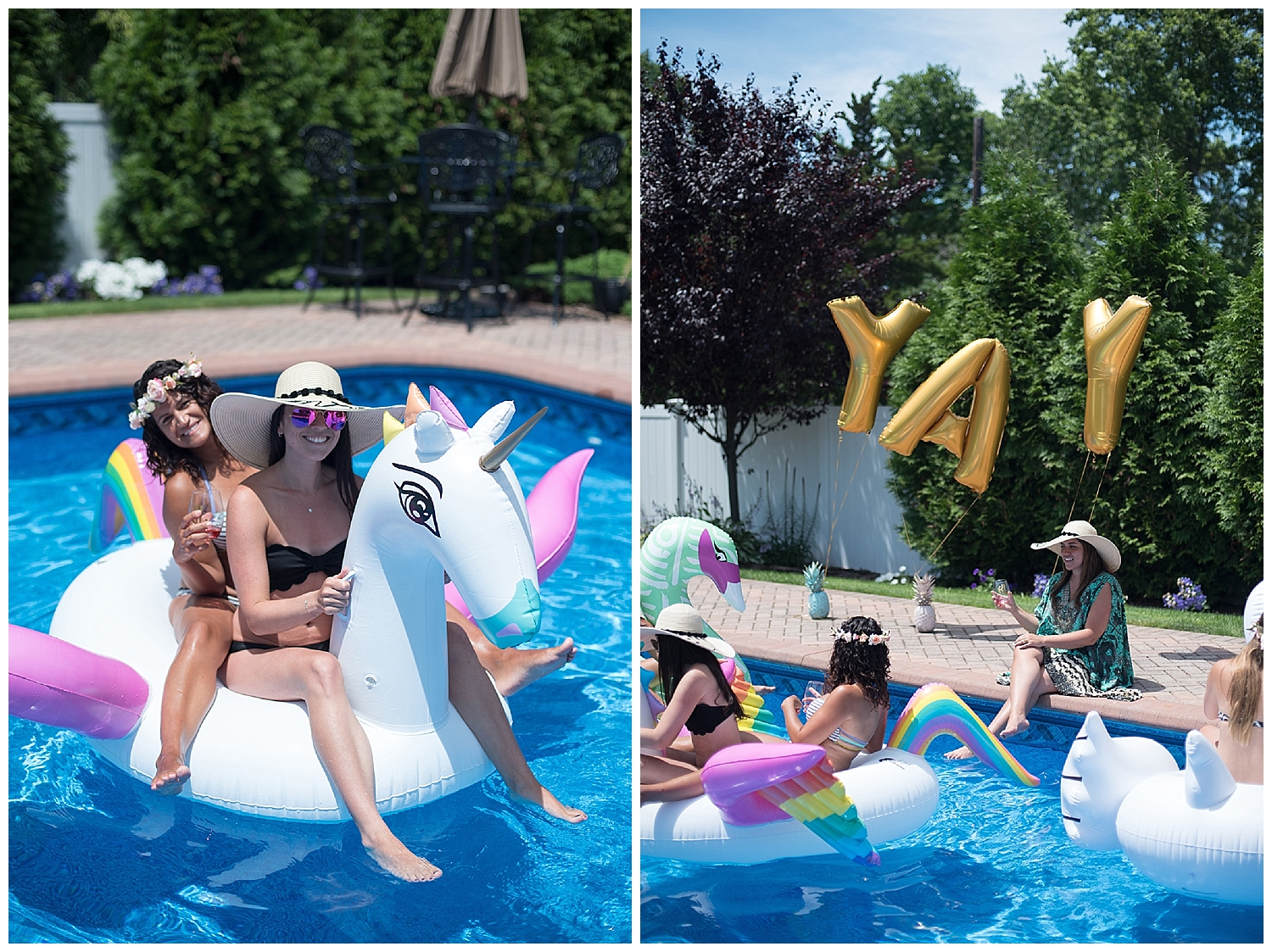 Bachelorette Pool Party • Lin Pernille Photography