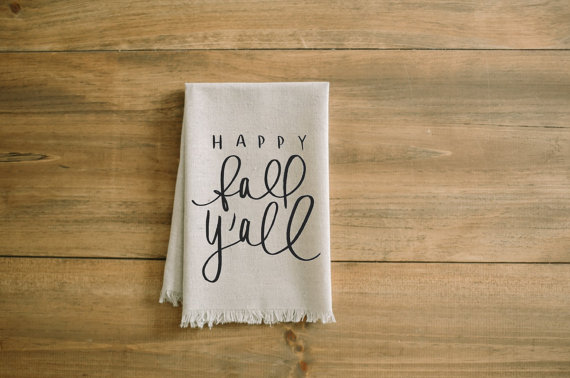 Fall Decor from our Favorite Local Etsy Sellers • Red Oak Weddings