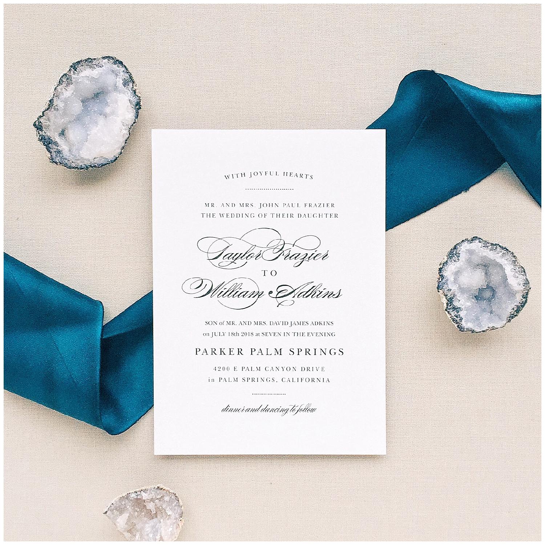 Red Oak Weddings Favorites | Basic Invite