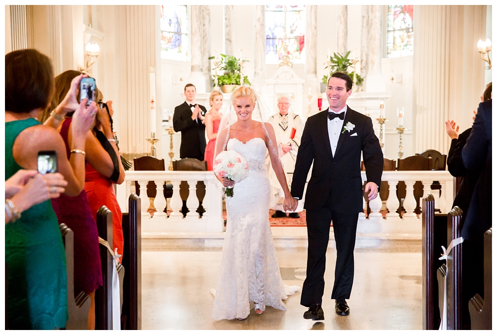 New Jersey Weddings | St. Catharine's Church, Spring Lake, NJ | Real weddings, engagements and inspiration for the modern NJ Bride | www.redoakweddings.com