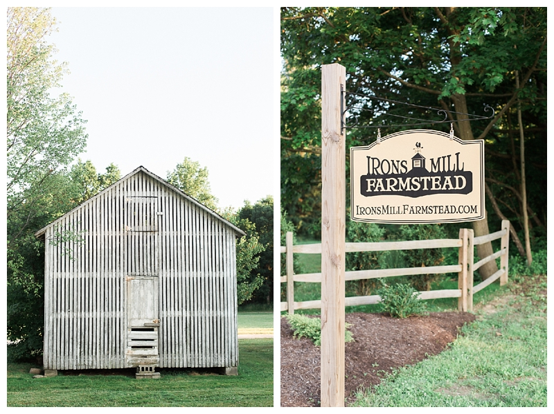 Pennsylvania Weddings | Irons Mill Farmstead, New Wilmington, PA | Real weddings, engagements and inspiration for the modern PA Bride | www.redoakweddings.com