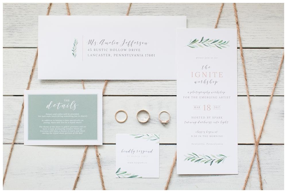 Winter Wedding Inspiration | Pennsylvania | Real weddings, engagements and inspiration for the modern PA Bride | www.redoakweddings.com