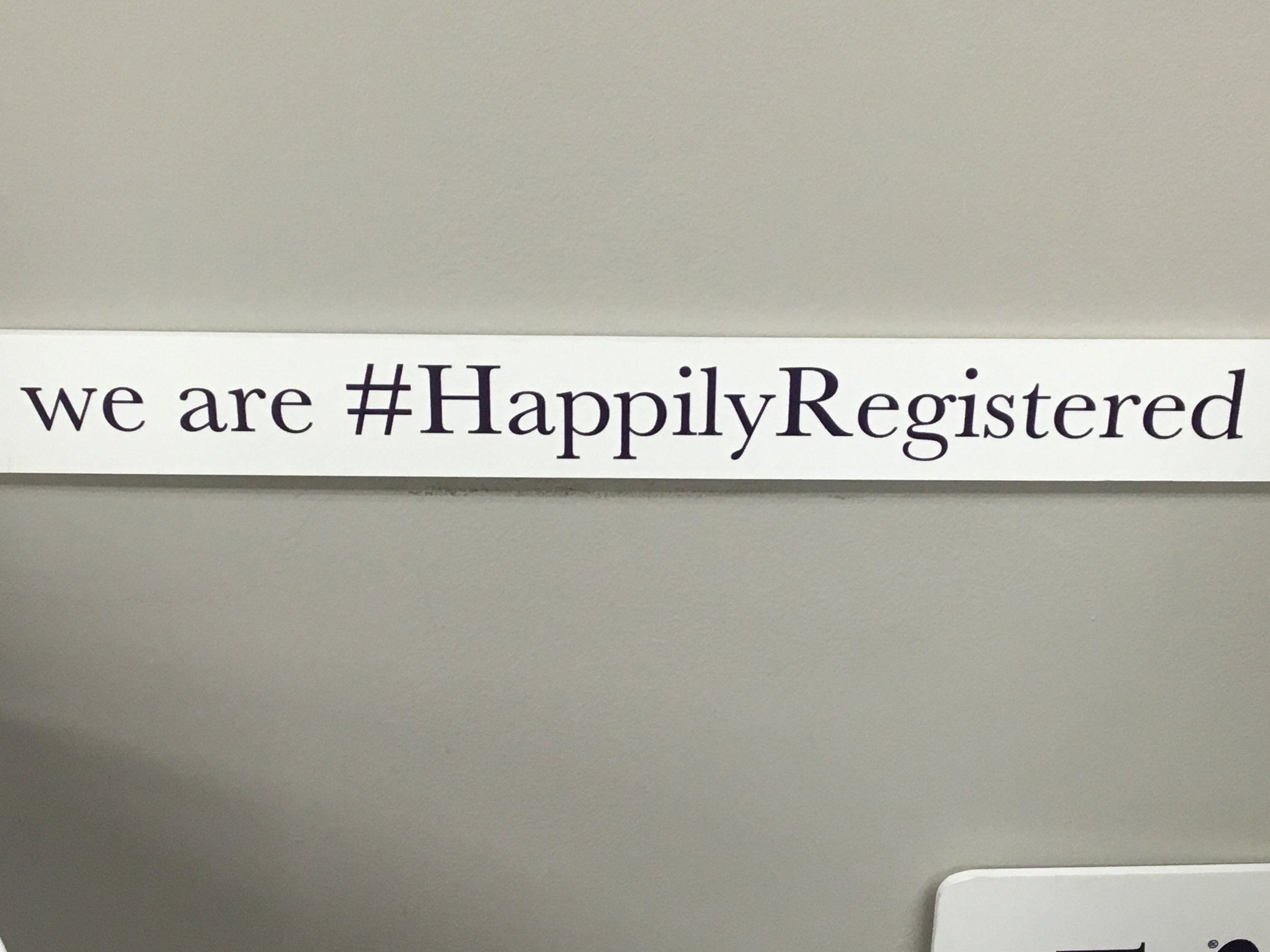 Blogger Bride Kristen Maid of Henry • What to register for