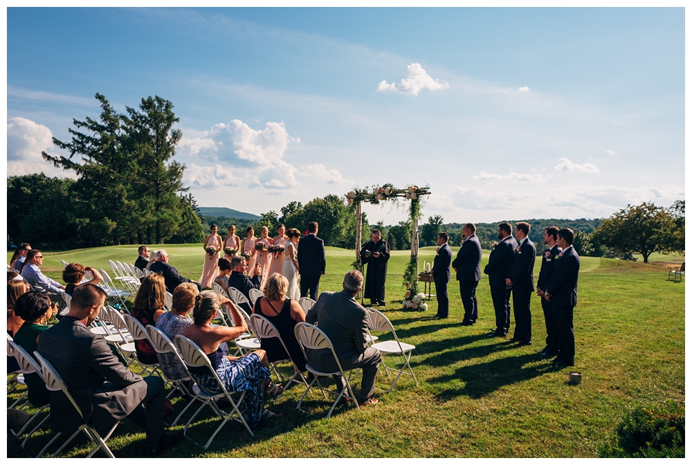 Pennsylvania Weddings | Country Club of Scranton, PA | Real weddings, engagements and inspiration for the modern PA Bride | www.redoakweddings.com