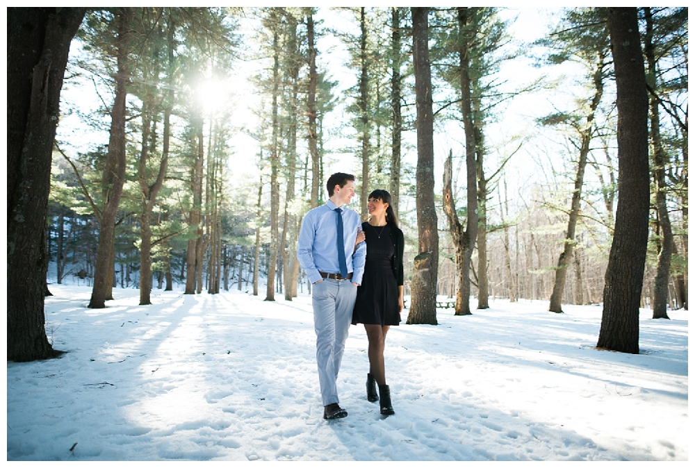 New York Engagement   Thatcher State Park, Albany NY    Real weddings, engagements and inspiration for the modern NY Bride   www.redoakweddings.com