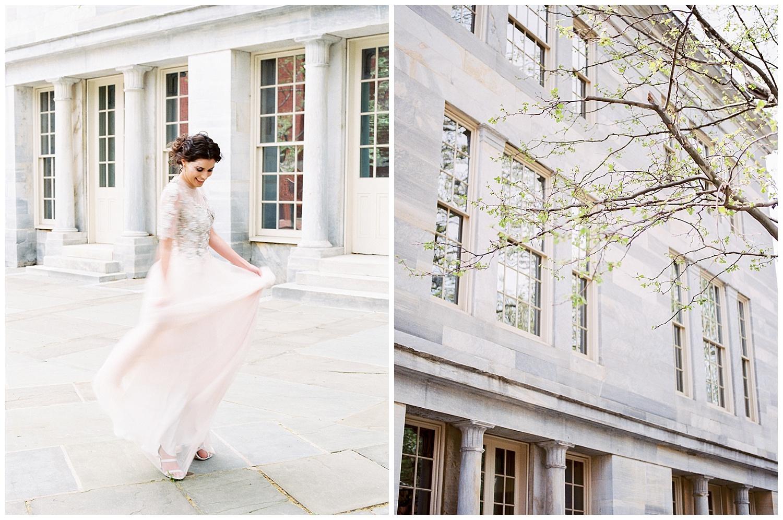 Philadelphia Wedding Inspiration | Merchants' Exchange Building | Philly Weddings | www.redoakweddings.com