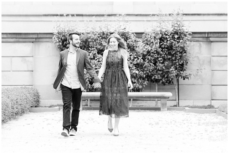 Philadelphia Engagements | Rodin Museum of Art | Philadelphia, PA | www.redoakweddings.com