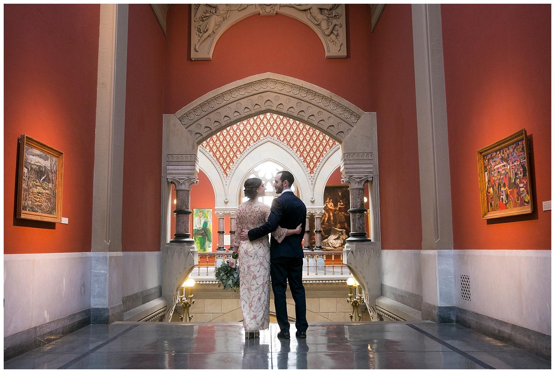 Philadelphia Weddings | Pennsylvania Academy of the Fine Arts | Philly Wedding | www.redoakweddings.com