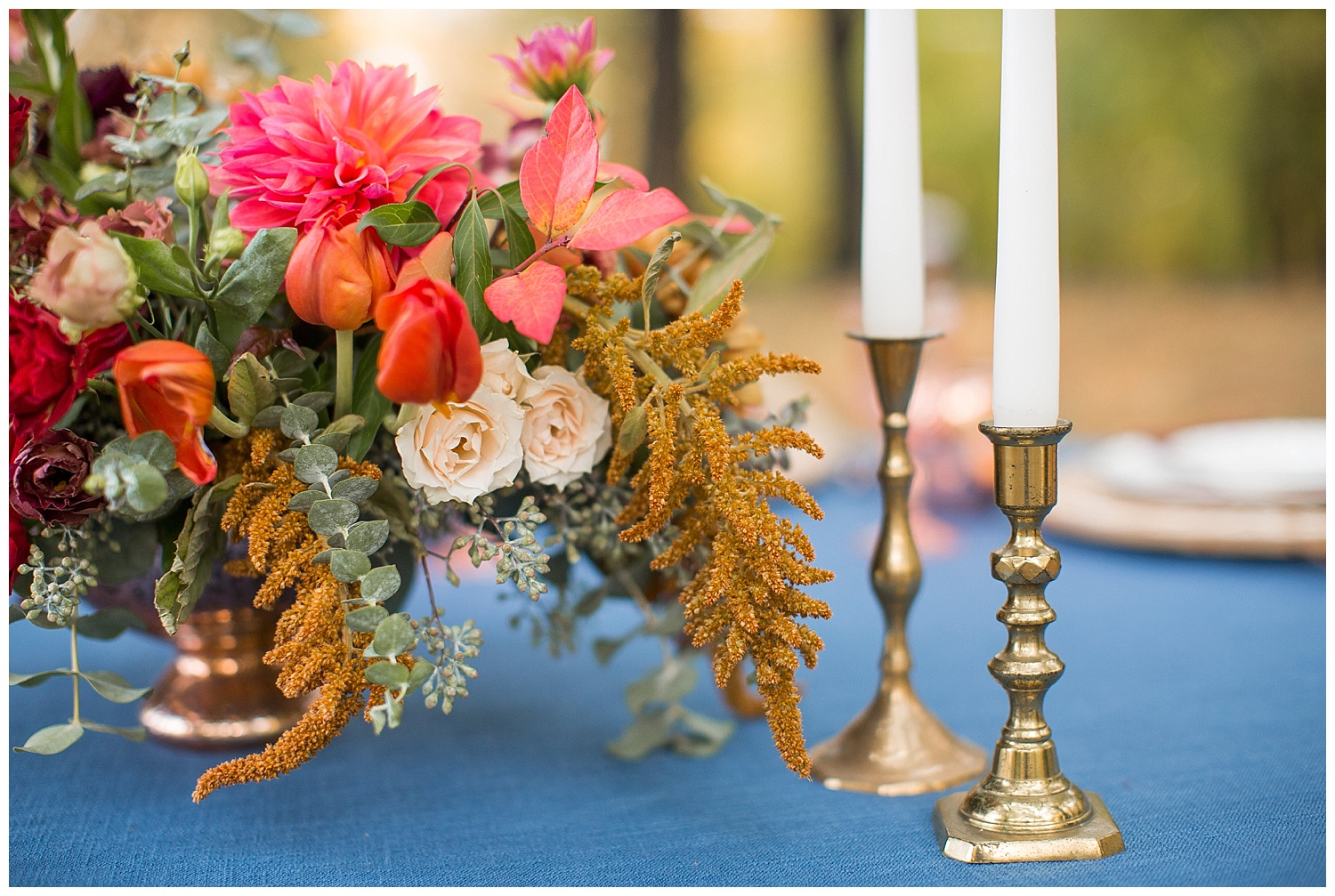 Pittsburgh Fall Wedding Inspiration | Schenley Park, Pittsburgh PA | www.redoakweddings.com