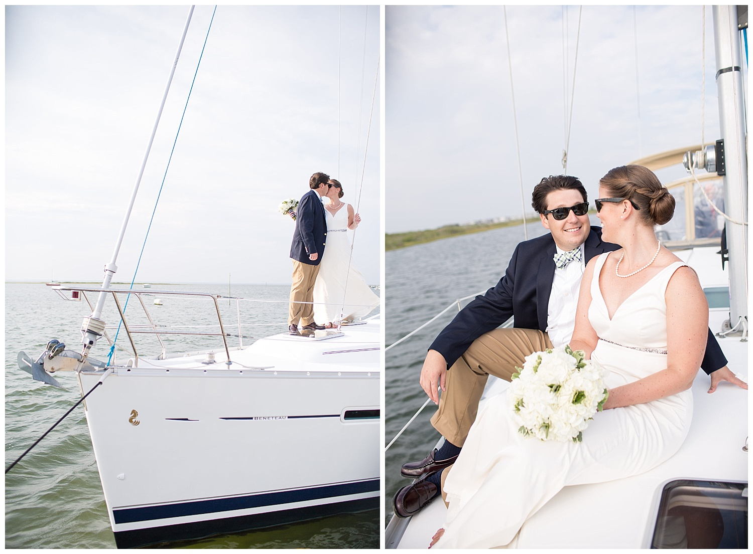 Jersey Shore Wedidngs | Little Egg Harbor Yacht Club | Beach Haven, NJ | www.redoakweddings.com