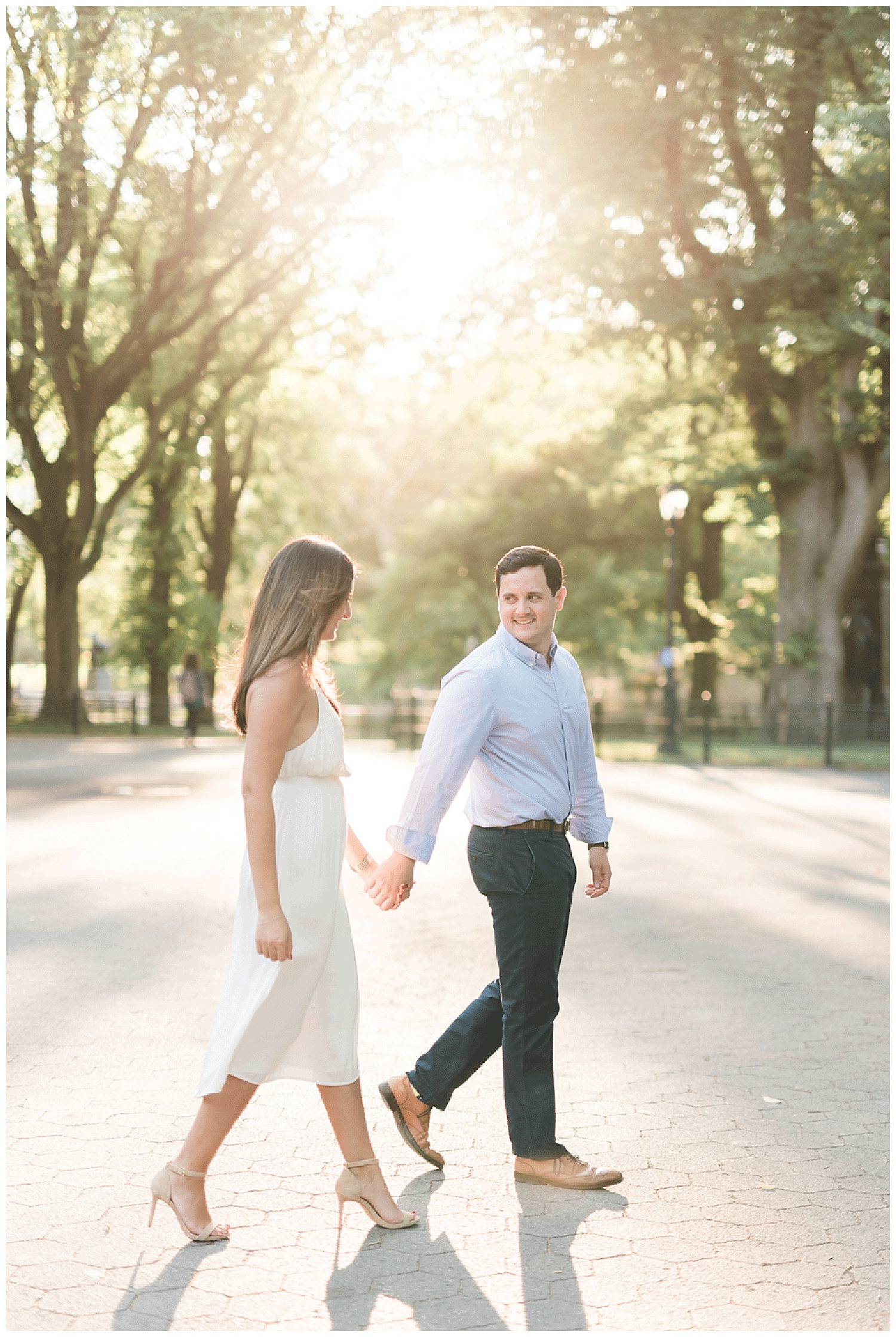 Central Park Engagement Session | NYC Weddings | Manhattan | www.redoakweddings.com