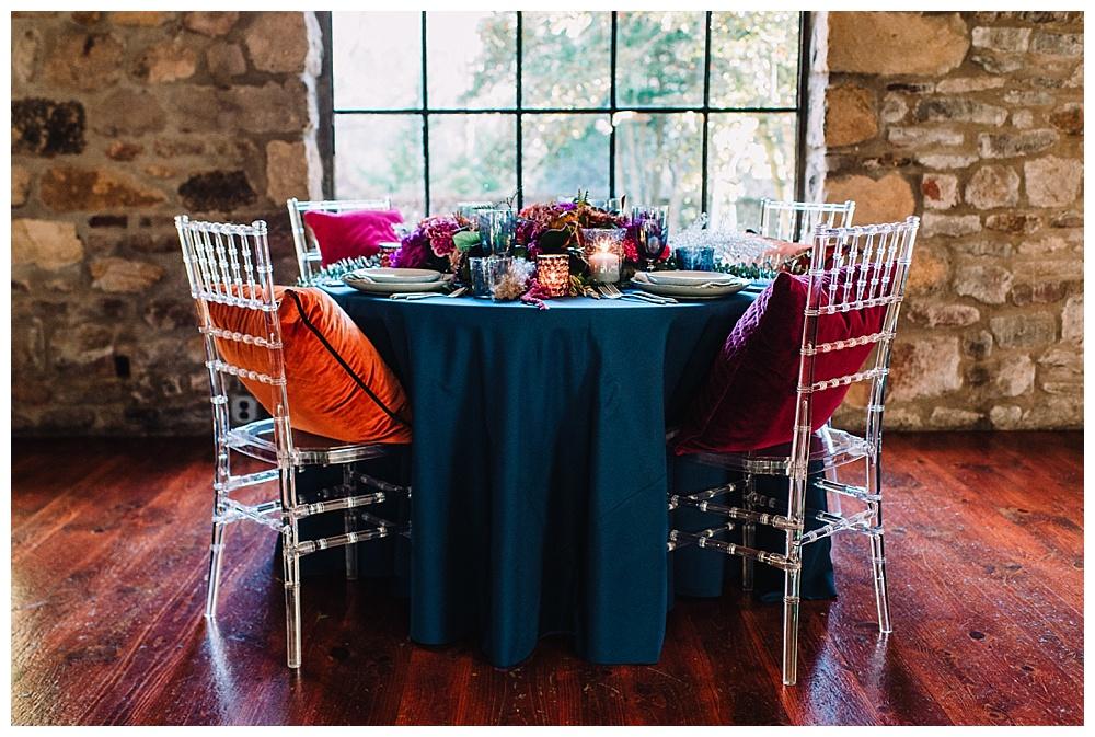Winter Wedding Inspiration | Holly Hedge Estate | New Hope, PA | www.redoakweddings.com