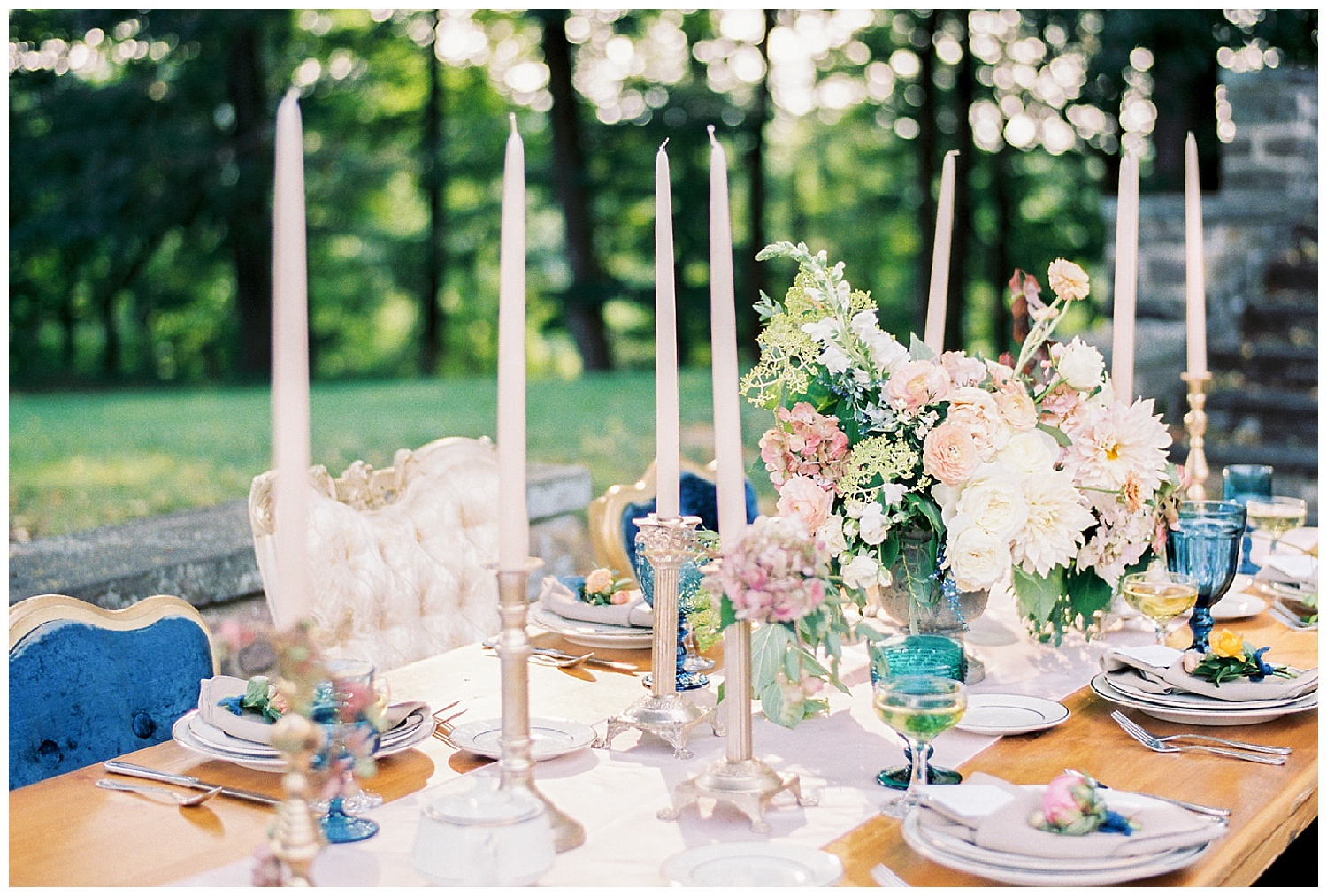 Art Deco Garden Wedding Inspiration | Tyler Gardens | Newton, PA | www.redoakweddings.com