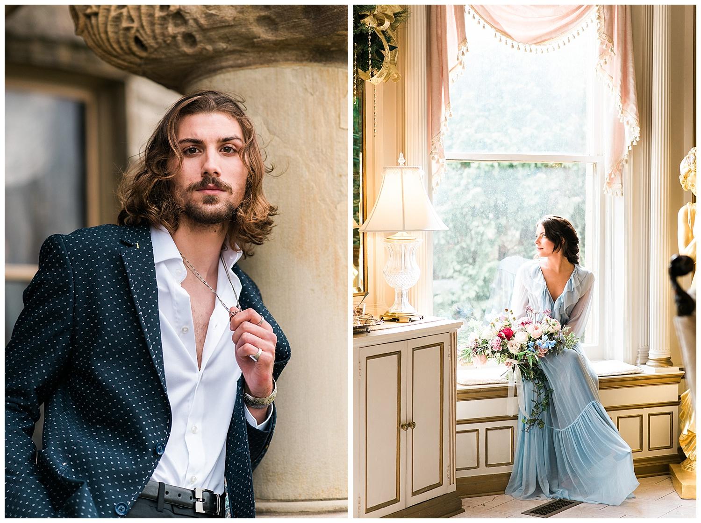 Beauty and the Beast Wedding Inspiration | Buhl Mansion Weddings | Pittsburgh, PA | www.redoakweddings.com
