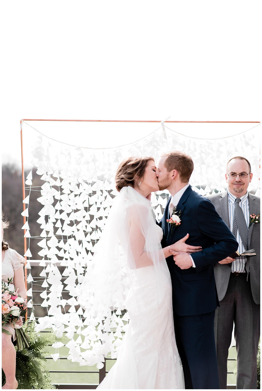 Crossway Church Wedding | Elegant DIY Church Wedding | Lancaster, PA | www.redoakweddings.com