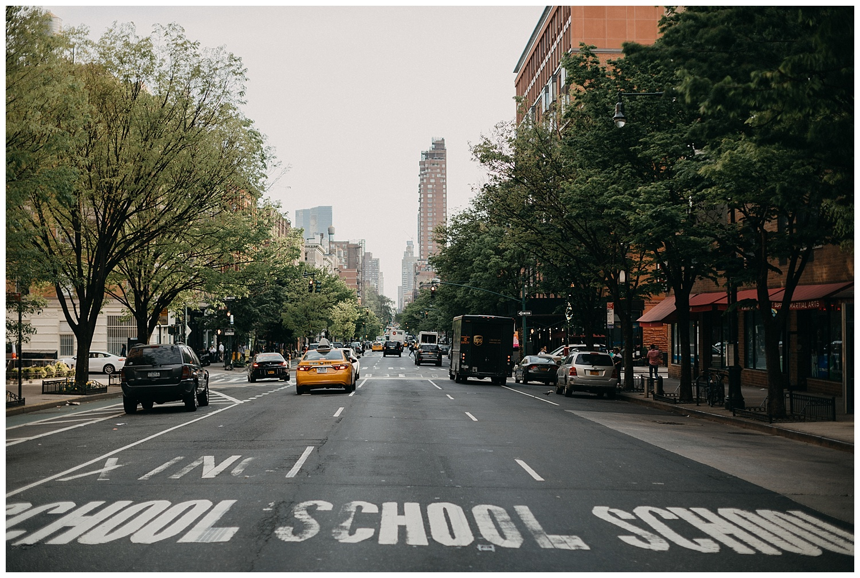 Upper West Side Engagement Session | NYC Engagement | New York, NY | www.redoakweddings.com