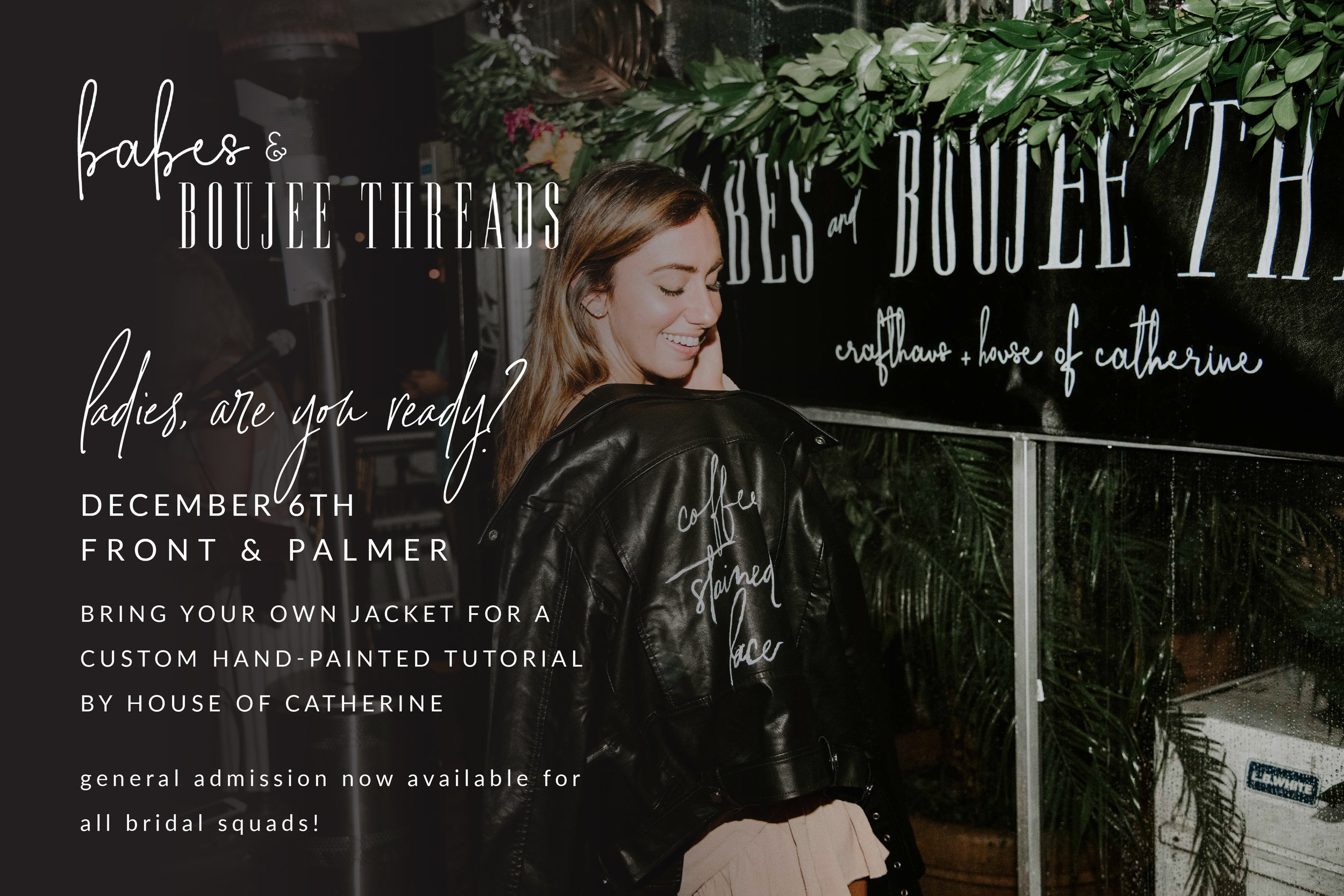 Red Oak Weddings Events | Babes + Boujee Threads