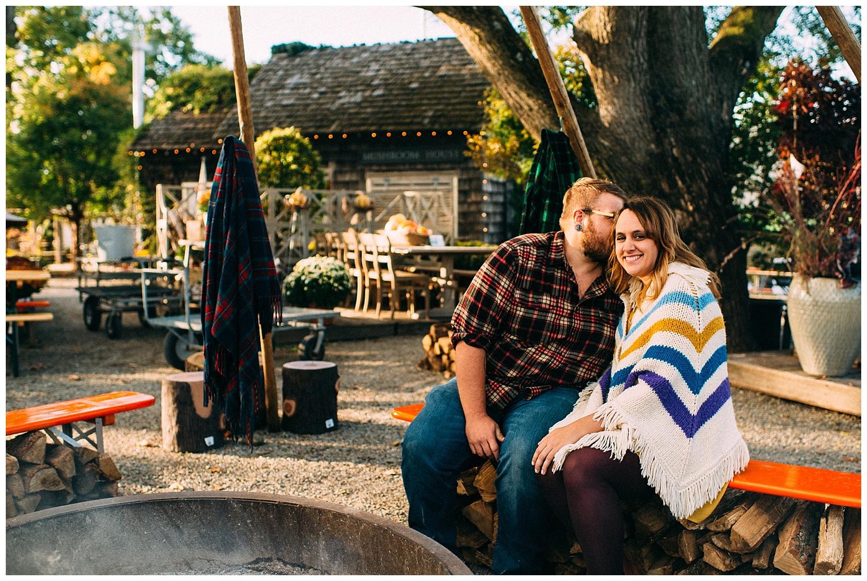 Terrain Fall Engagement Session | Glen Mills, PA | www.redoakweddings.com