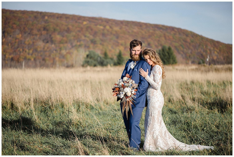 Rustic Modern Fall Wedding at The Farm at Cottrell Lake • Jordan DeNike Photography