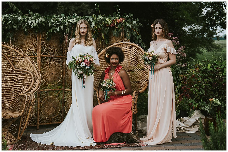 70's Boho Farm Wedding Inspiration at The Rodale Institute • Nina Lily Photography
