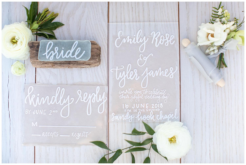 Lush Green Jersey Shore Wedding Inspiration | Sandy Hook, NJ | www.redoakweddings.com