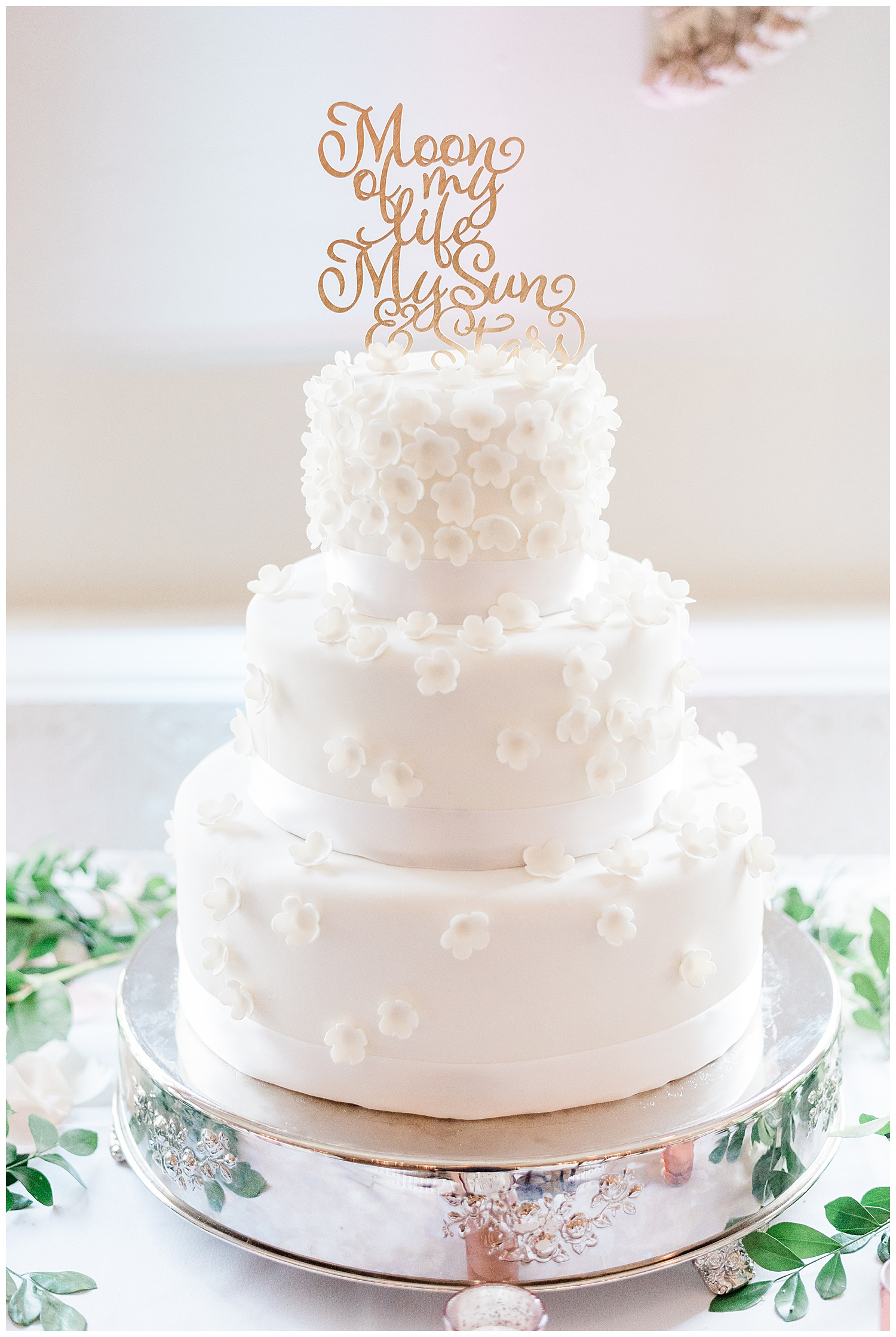 Upper Montclair Country Club Wedding   Pink Wedding Dress   Montclair, NJ   www.redoakweddings.com