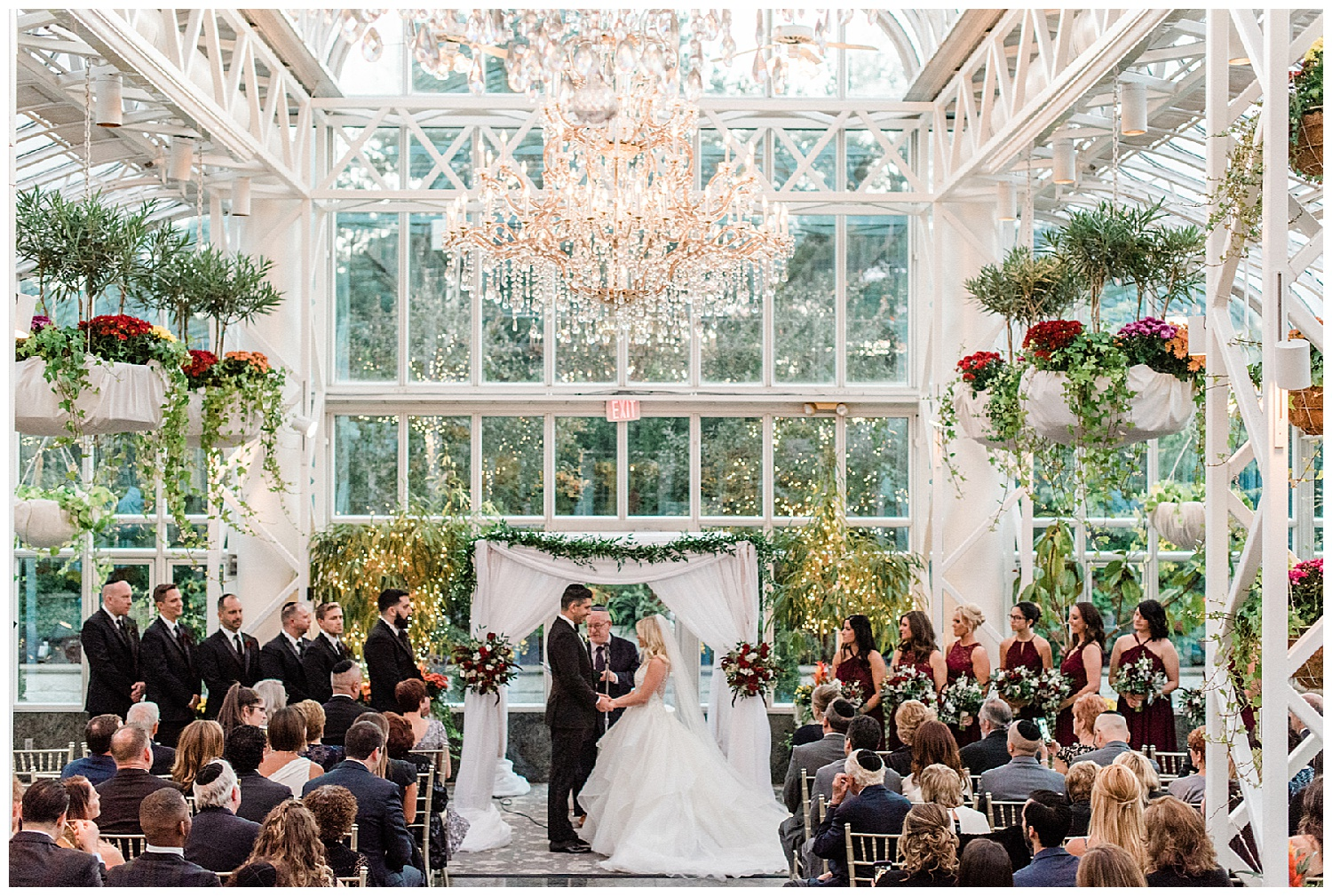 Fall Madison Hotel Wedding | Madison Hotel Conservatory | Madison, NJ | www.redoakweddings.com