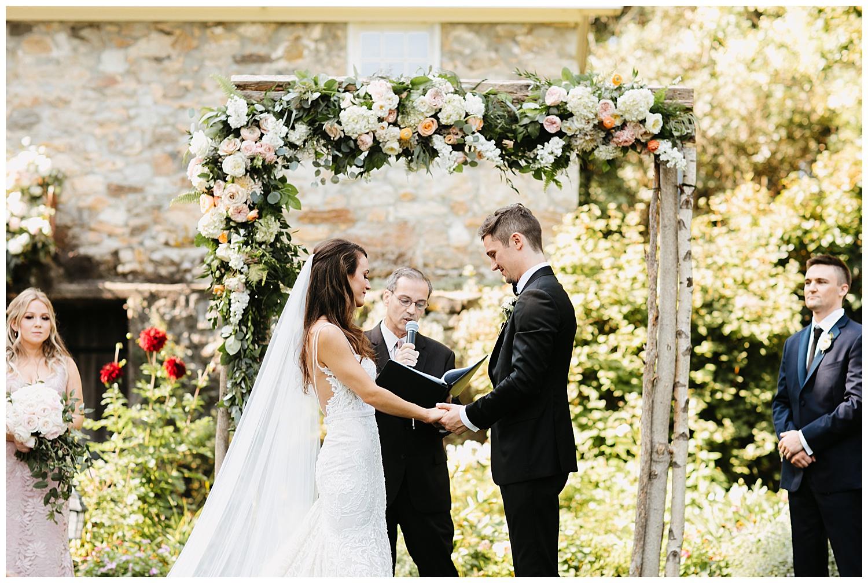 Romantic Garden Wedding   Crossed Keys Estate Wedding   Andover, NJ   www.redoakweddings.com