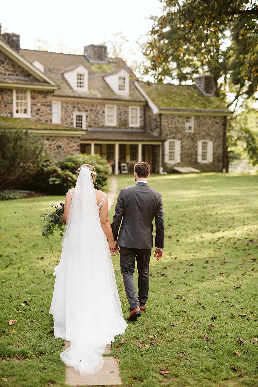Anthony Wayne House Philadelphia PA Wedding Photographer