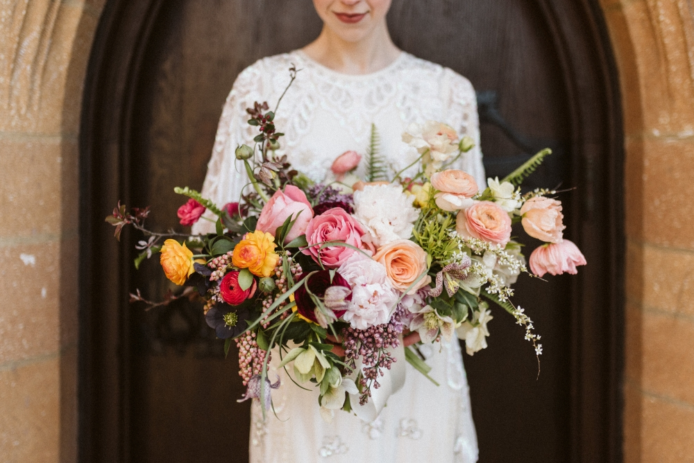 TOP 10% | Wedding Details Category | 1,471 out of 18,829 entries  PICTURED HERE: Florals:  Hemlock & Hellebore  | Hair & Makeup:  The Bonafide Ginger  | Gown:  ASOS