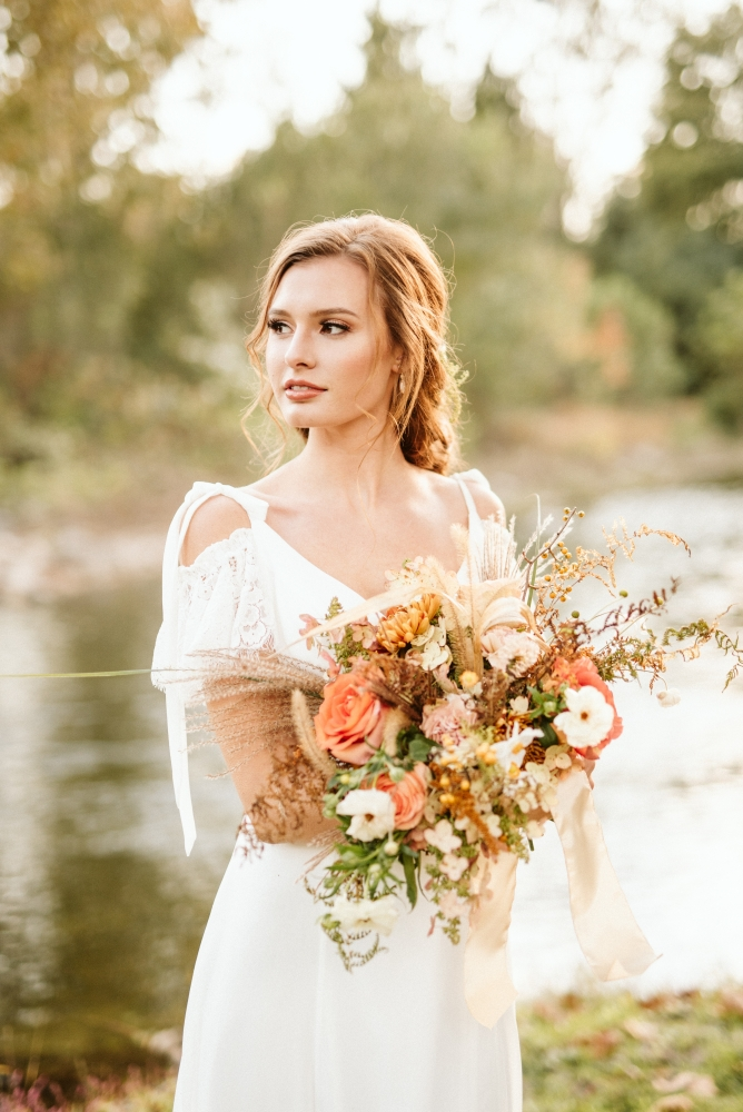 TOP 10% | Styled Wedding & Fashion | 1,063 out of 15,926 entries  PICTURED HERE: Florals:  Hemlock & Hellebore  | Hair & Makeup:  Fearfully & Wonderfully 139  | Gown:  POSH Bridal  | Model:  Danielle Lehman  | Venue:  1181 Creekside Manor