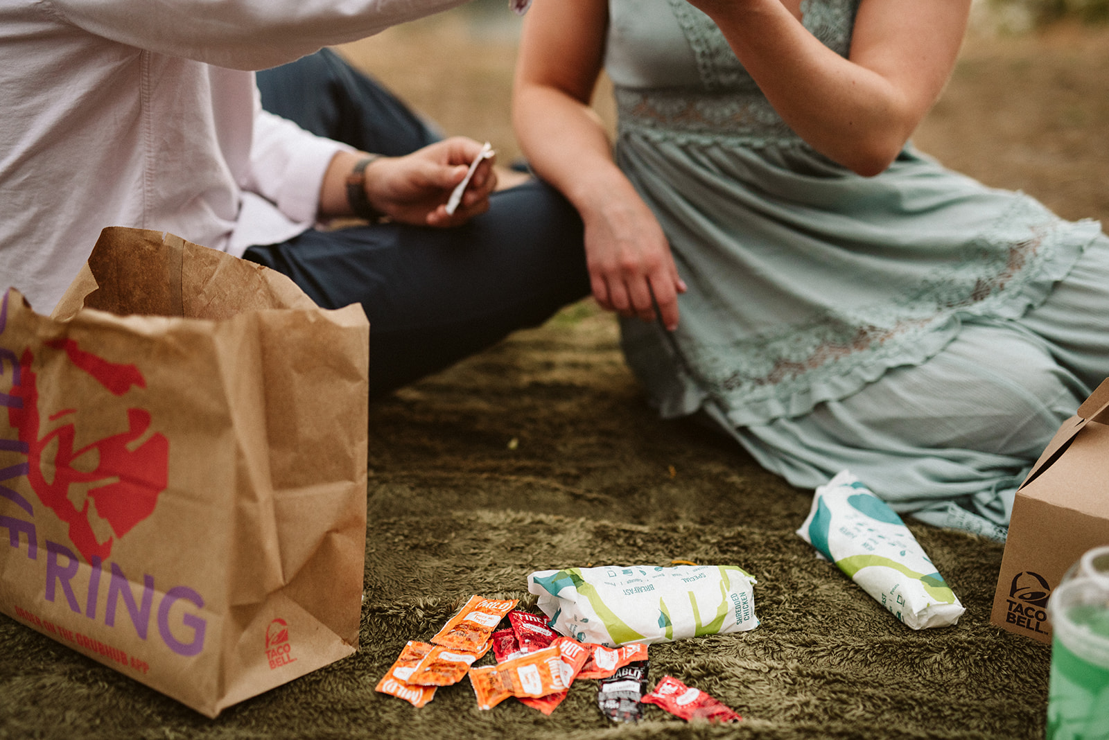 Taco Bell engagement session.