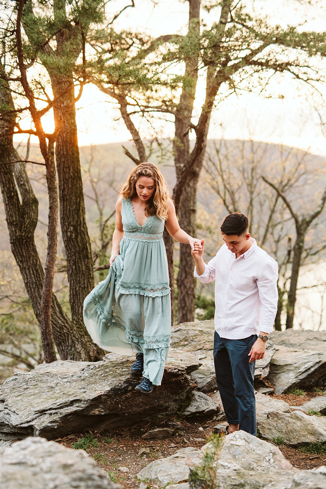 Adventurous elopement and wedding photographer located in Lancaster Pennsylvania.