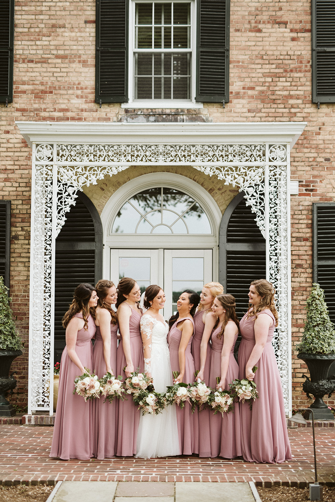 Bridesmaids at Drumore Estate, located in southern Lancaster county.