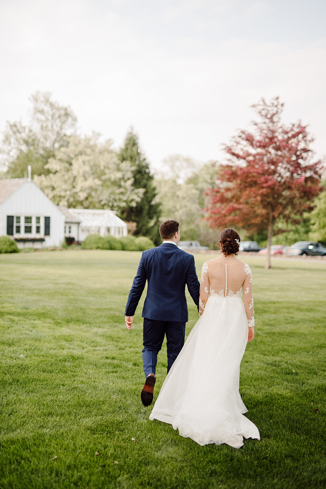 Spring wedding at Drumore Estate.