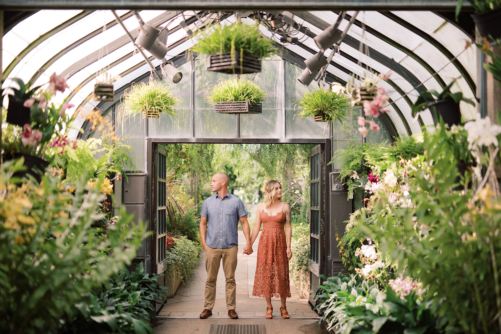 Longwood Gardens Engagement Session by Lancaster photographer, Alyssa Christine photography.