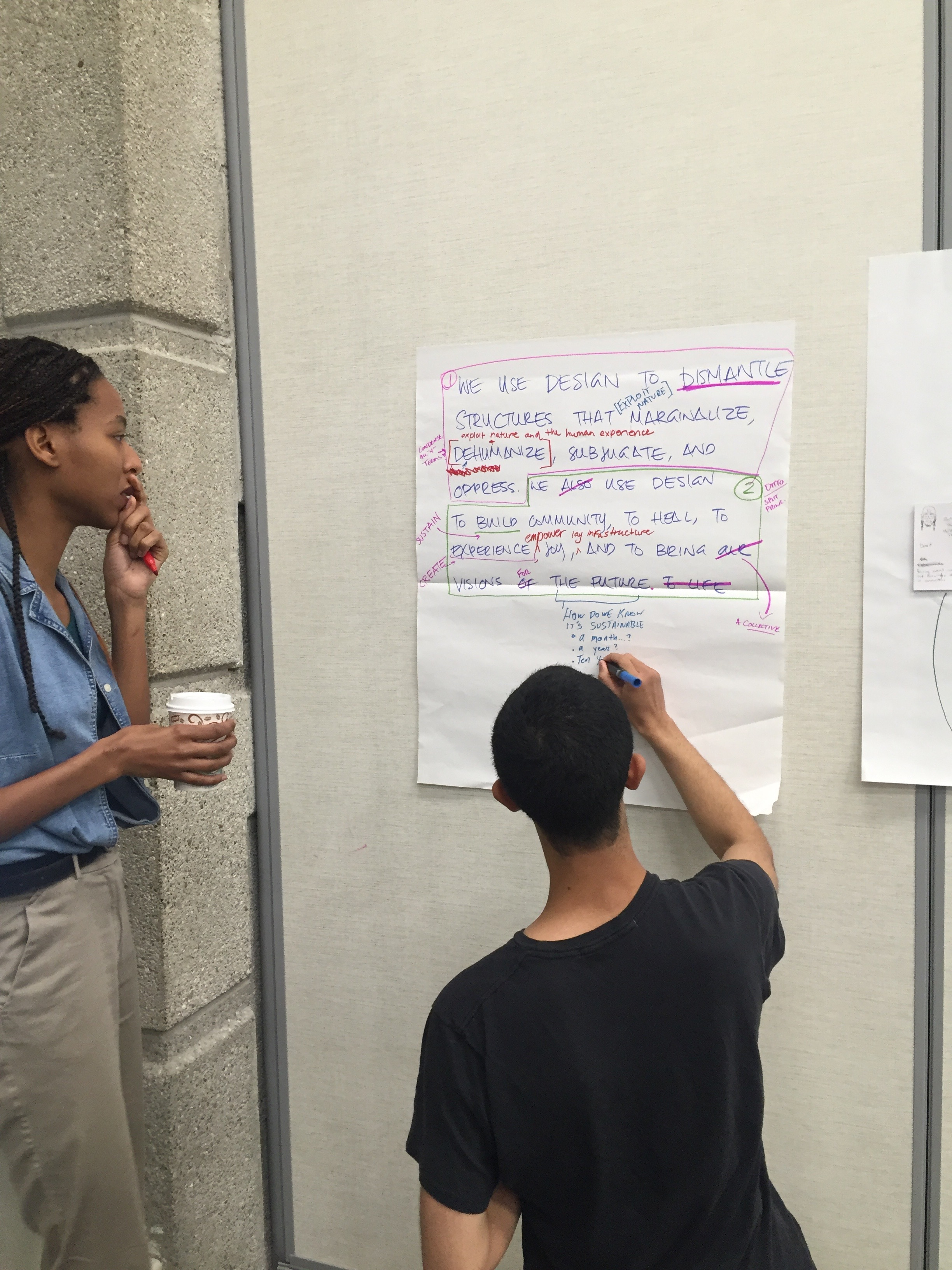 Collaboratively editing the network principles