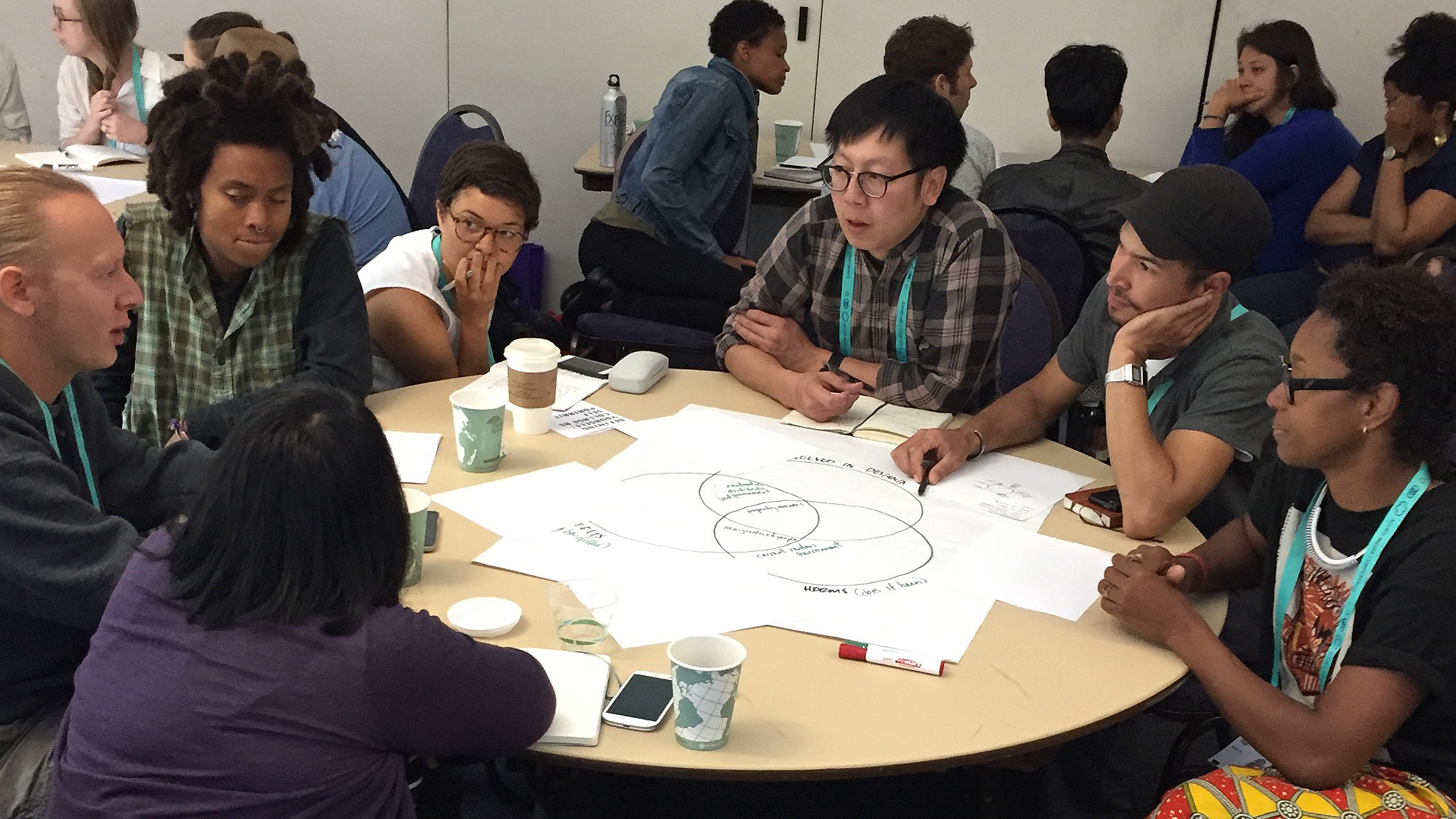 Plotting out the people in social impact design stories